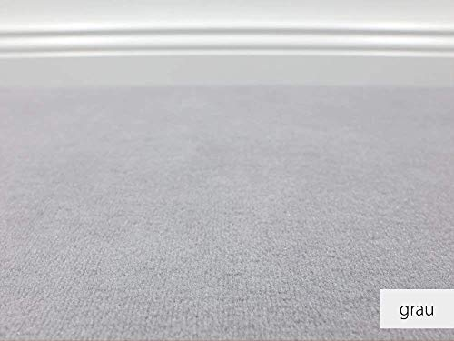 Teppichboden Auslegware Vorwerk Bijou UNI Grau Muster