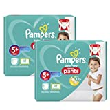 Couches Pampers - Taille 5+ baby dry pants - 68 couches bébé