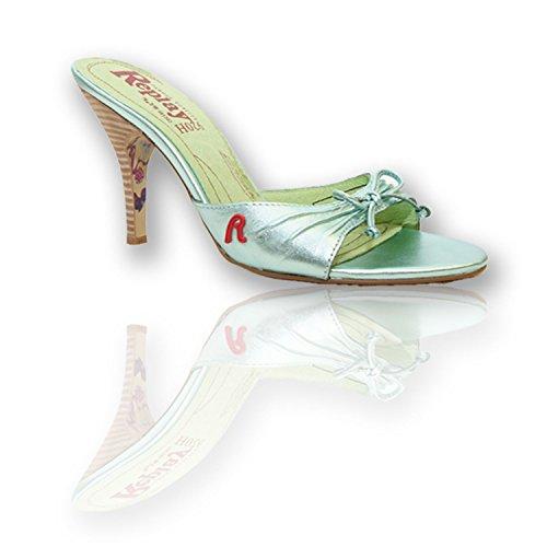 Replay VISSIA RP614 Pumps - High Heels - Damen Schuhe - Gr. 36-41, Farbe/Color:Hellgrün;Größe/Size:37