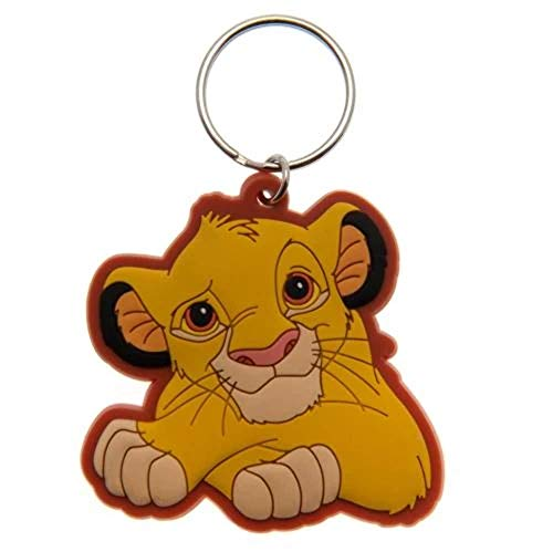 Disney Rubber Keychain, Multi-Colour, 4.5 x 6cm