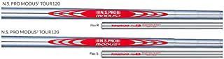 Nippon New N.S. Pro Modus3 Tour 120 Steel Iron 8 Shaft Set .370 (Choose Flex)