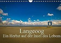 Langeoog - Ein Herbst auf der Insel des Lebens (Wandkalender 2022 DIN A4 quer): Herbststimmungen auf Langeoog. (Monatskalender, 14 Seiten )