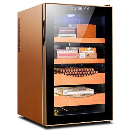 Caja de cigarros, cigarro electrónico Gabinete Doble Núcleo Refrigeración Inteligente de Control de Temperatura hidratante Armario congelador té Gabinete 2 Color Opcional (Color : B)