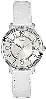Guess Reloj Análogo clásico para Mujer de Cuarzo con Correa en Cuero W0930L4