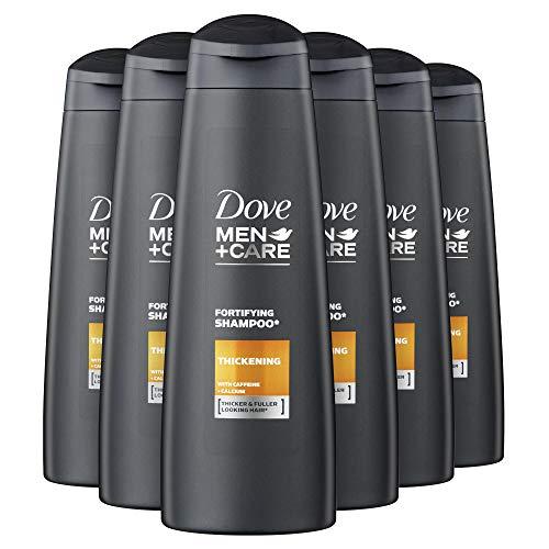 Dove Men+Care Kräftigendes Shampoo für feines Haar Energy Boost dermatologisch getestet 6er Pack (6 x 250 ml)