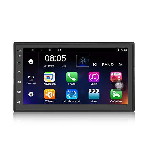 Panlelo S2,2 DIN Universeel Android 9.0 Navigatie Autoradio Audio Radio GPS 1080p Videospeler ARMv7 Quad Core 1G + 16G Wi-Fi BT AM/FM/RDS Stuurbediening