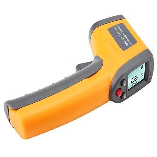 Termómetro infrarrojo, pantalla LCD Termómetro portátil fácil de usar, portátil para tuberías de agua caliente Piezas de motor caliente