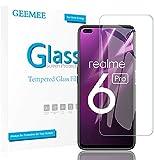 GEEMEE Pellicola Vetro Temperato per Realme 6 PRO Realme X50, Durezza 9H Protezione Schermo, Anti Graffi HD Trasparenza Protettiva Screen Protector Film (Transparente)- 2 Pack