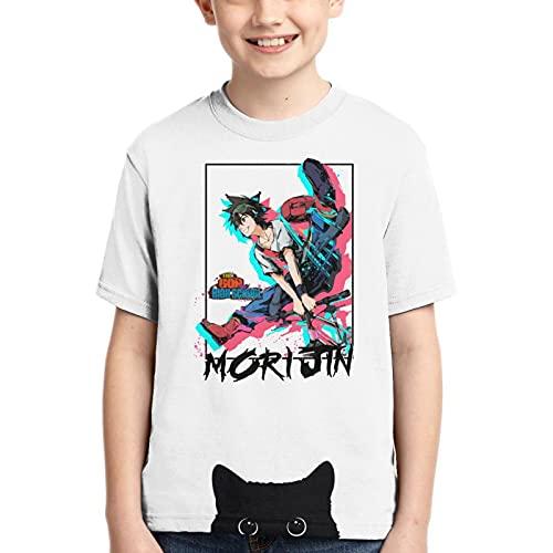 Camiseta de niño para niños, anime japonés, camiseta 3D, estampado gráfico de dibujos animados manga cosplay adolescente, El Dios de la escuela secundaria, 14 años