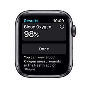 (Refurbished) AppleWatch Series 6 (GPS + Cellular, 44mm) - Space Gray Aluminum Case with Black Sport Band