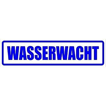 Kiwistar Magnetschild Wasserwacht 30x8cm Für Kfz Und Sonstige Metalloberflächen Auto
