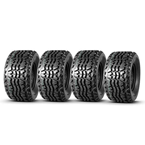 Set of 4 MaxAuto ATV Tires 23X11X10 23x11-10 ATV UTV Quad Tires Compatible with Kawasaki Mule Tires 6 Ply 1880Lbs Max Load