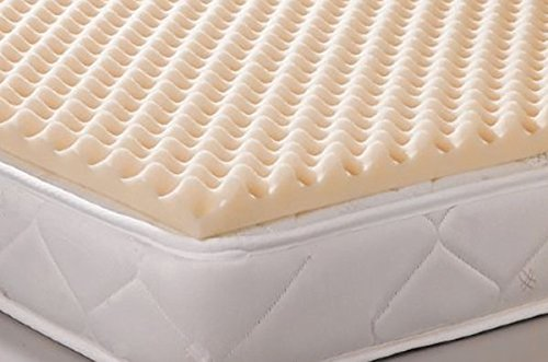 Geneva Healthcare Egg Crate Convoluted Foam Mattress Pad 4