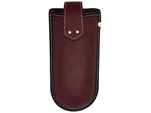 Clip de cinturón Funda para gafas con correa de velcro