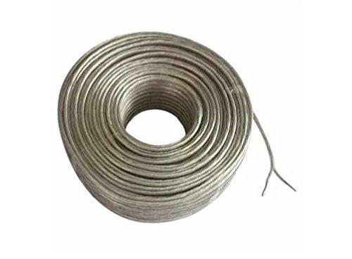 C63® - [10 Meter Roll] luidsprekerkabel. Helder zuurstofvrij koper [OFC] kabel. Voor Auto Audio en Home Cinema Gebruik