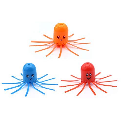 TOYMYTOY 12 unidades de buceo para botella de medusas, juguete para niños, regalo (color al azar)