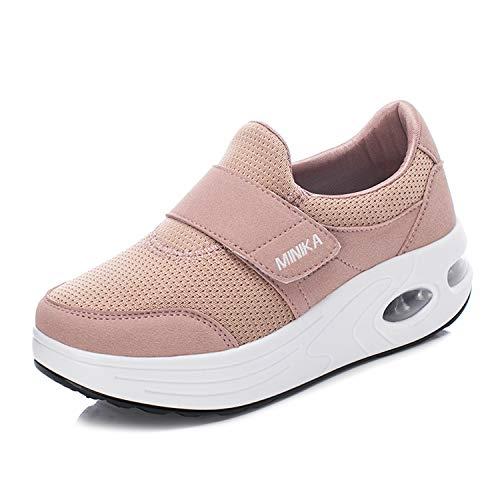 Mujer Zapatos de Plataforma Zapatillas Mocasines de Marcha n
