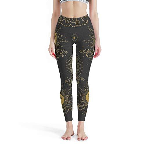 XJJ88 - Soepele Broek Vrouwen, Leggings Depot Hoge taille Leggings Capri Patroon Ontwerp Hoge Taille Print Leggings Yoga Broek voor Vrouwen Petite Lengte