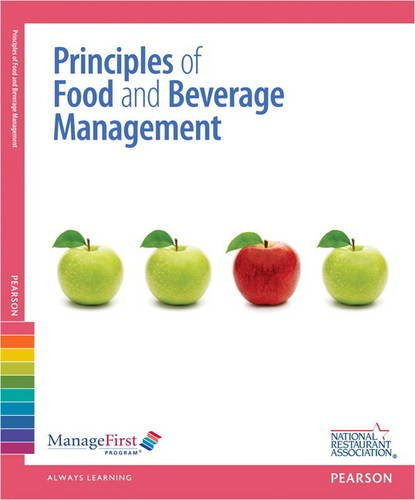 ManageFirst: Principles of Food and Beverage Management w/ Online Exam Voucher