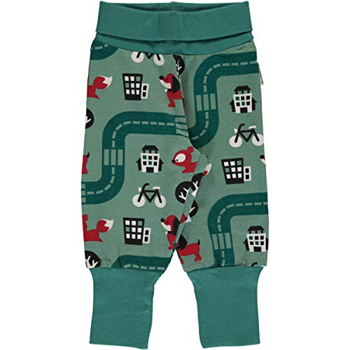 Maxomorra Pumphose Jogginghose Krabbelhose Stoffhose Für Baby und Kind - Jungs und Mädchen Motiv (Big City, 62/68)