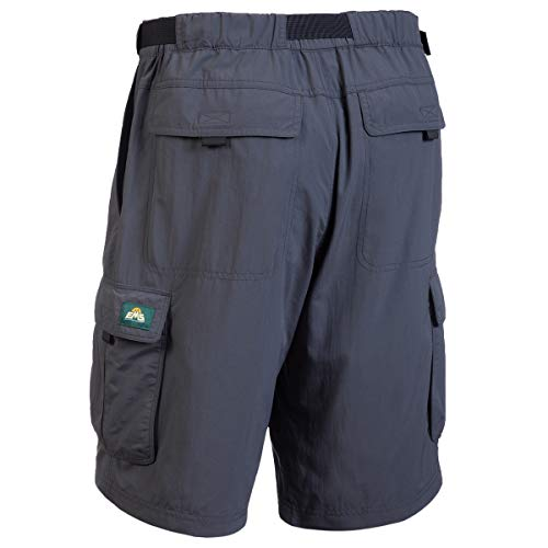 Eastern Mountain Sports Men's Camp Cargo Shorts Forged Iron 36