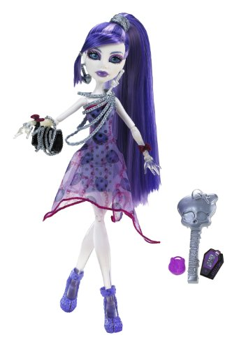 Monster High - Muñeca, Spectra Monstruodisco (Mattel BCH94)