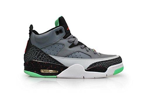 Nike Herren Jordan Son of Low Laufschuhe, Grau/Rot/Schwarz (Cl Gry/Blck Infrrd 23-Lt Psn G), 42 EU