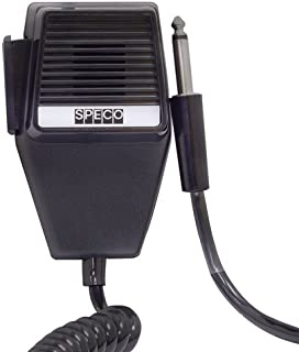 Push-to-Talk CB/Handheld Microphone with Phone Plug also for Speco 600 ohm impedance