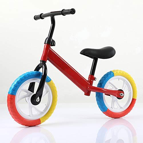 QHY Kinder Laufrad Roller Zum 1-6 Jahre Alt Baby Lernen Zu Gehen Auto Zwei Räder Draussen Sport Kein Pedal Fahrrad...