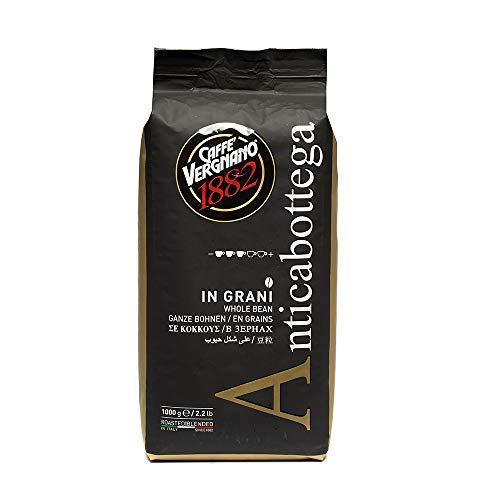 Caffè Vergnano 1882 Kaffeebohnen Anticabottega - 1 Packung enthält 1 Kg