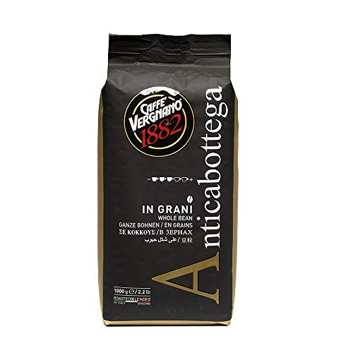 Caffé Vergnano Antica Bottega Ganze Bohnen, 1er Pack (1 x 1 kg)
