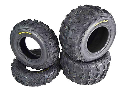Kenda Bear Claw EX 22x7-10 Front & 22x11-10 Rear ATV 6 PLY Tires Bearclaw - 4 Pack Set