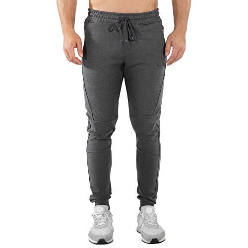 SMILODOX Herren Jogginghose Chill   Trainingshose für Sport Fitness Gym Training & Freizeit   Sporthose - Jogger Pants - Sweatpants Hosen - Freizeithose Lang, Größe:XXXL, Farbe:Anthrazit