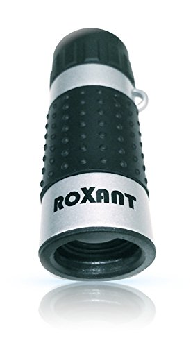 Photo of a black and silver colored Roxant Mini Monocular