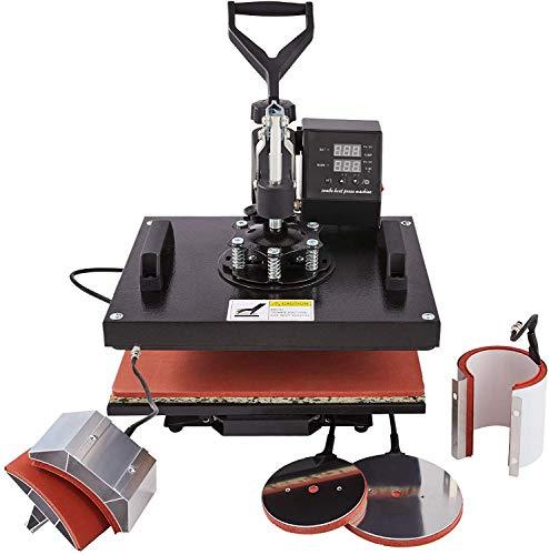 Y-NOT 30x38cm Pressa di Calore Pressa per Stampa Magliette Pressa a Caldo Machine per Sublimazione...
