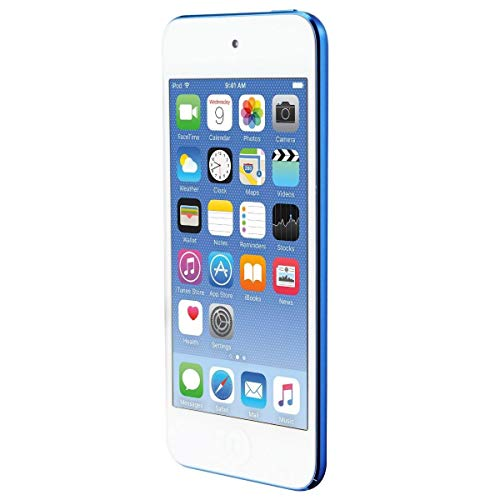 Price comparison product image Apple iPod Touch 32GB (5th Generation) - Blue (Renewed)
