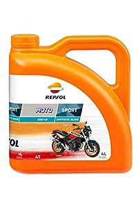 Repsol RP180N54 Moto Sport 4T 10W-40 Aceite de Motor, Multicolor, 4 L