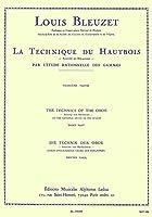 ブルーゼ : オーボエのテクニック 第三巻 (オーボエ教則本) ルデュック出版