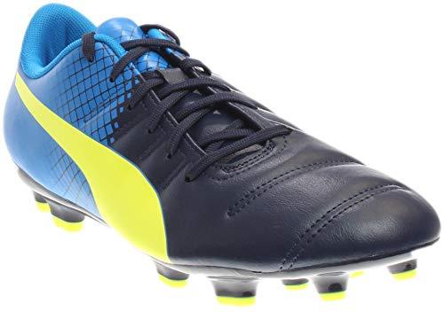 PUMA Mens Evopower 4.3 Tricks Firm Ground Soccer Cleats - Blue - Size 11 D