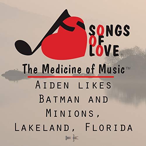 Aiden Likes Batman and Minions, Lakeland, Florida