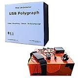 USB Polygraph Machine - Home Lie Detector Testing Kit