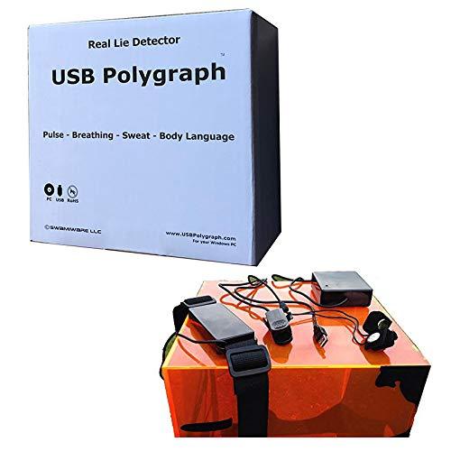 USB Polygraph - Detector de mentiras Profesional