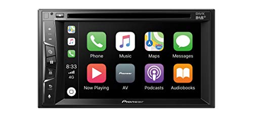 "Pioneer AVH-Z3200DAB 2DIN Media-Receiver , 6,2"" Clear-Resistive-Touchpanel , Bluetooth , DAB+ Digitalradio , Apple CarPlay , WebLink , Freisprecheinrichtung , CD, DVD, und USB"