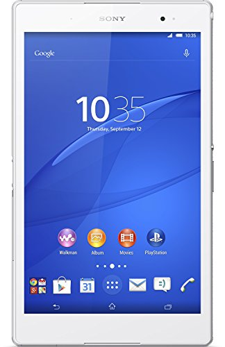 Sony SGP611 Xperia Z3 Tablet Compact 20,3 cm (8 Zoll) Tablet-PC (Wuxga-Triluminos-Display, 2,5 GHz-Quad-Core, 3 GB RAM, 8,1 Megapixel-Kamera, Android 4.4, 16GB interner Speicher) weiß
