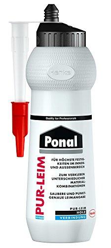 Ponal Pur 12 Holz-/ PUR-Leim HV 860, Flasche 420 g