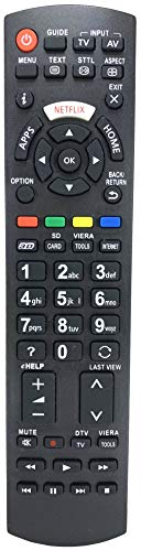 Ersatz Fernbedienung passend für Panasonic TX-55DS503E | TX-55DSU501 | TX-55DSW504 | TX-55DX600B | TX-55DX600E | TX-55DX603E | TX-55DXU601 | TX-55DXW604