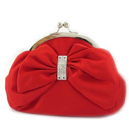 Les Trésors De Lily [L3678 - Sac Bourse 'Nina' rouge