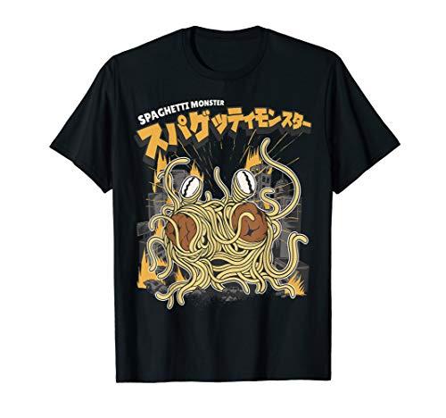 Das fliegende Spaghettimonster - Flying Spaghetti Monster T-Shirt
