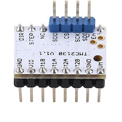 Con módulo de controlador de motor paso a paso Reprap adhesivo, con controlador de motor paso a paso accesorio, para uso profesional de bricolaje(TMC2130)