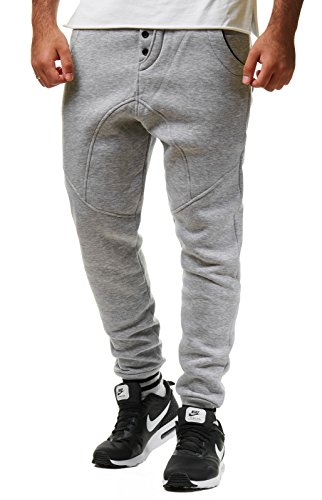 Young & Rich Herren Jogginghose Sweatpants Good Times schwarz S